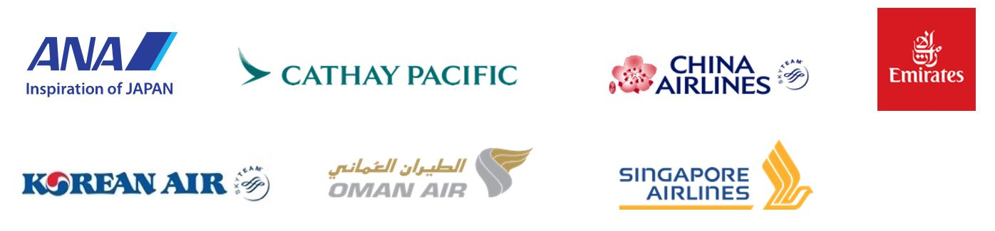 logo Legacy airlines x Miracle lounge