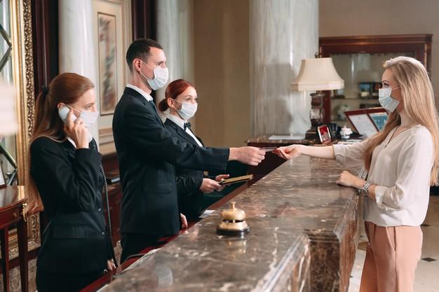 เช็คอินการเข้าใช้บริการที่โรงแรมในยุคโควิด