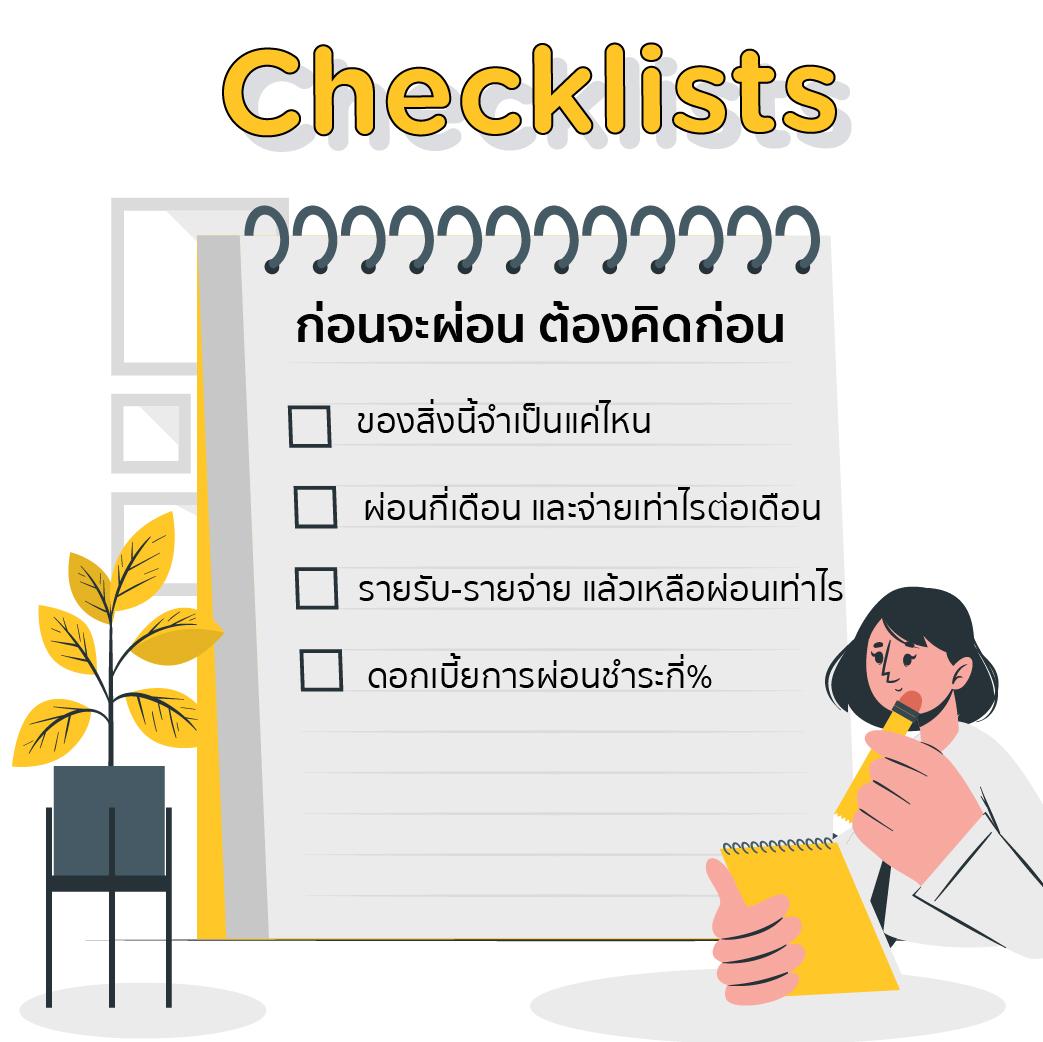 before installment checklist