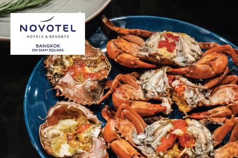 บุฟเฟ่ต์โรงแรม โนโวเทล สยามสแควร์ (Novotel Bangkok on Siam Square)