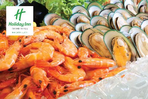 บุฟเฟ่ต์โรงแรม ฮอลิเดย์ อินน์ กรุงเทพฯ สีลม (Holiday Inn Bangkok Silom)