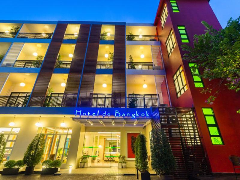 โรงแรม เดอ บางกอก - ราชปรารภ / มักกะสัน กรุงเทพ (Hotel De Bangkok)
