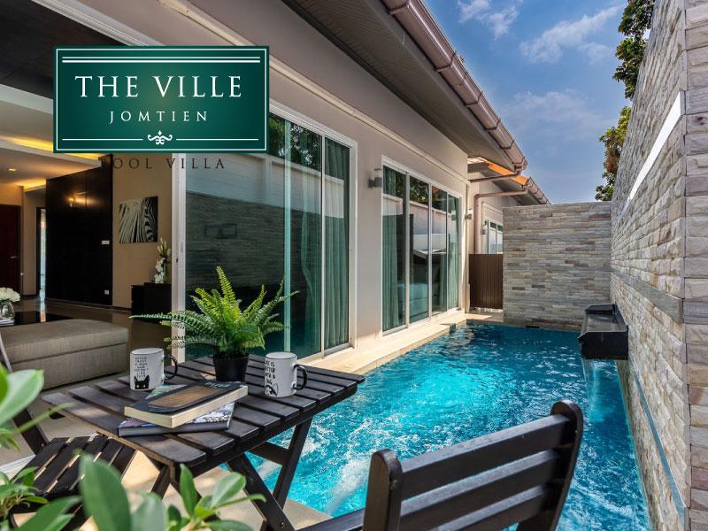 โรงแรม เดอะ วิลล์ จอมเทียน พูล วิลล่า (The Ville Jomtien Pool Villa)
