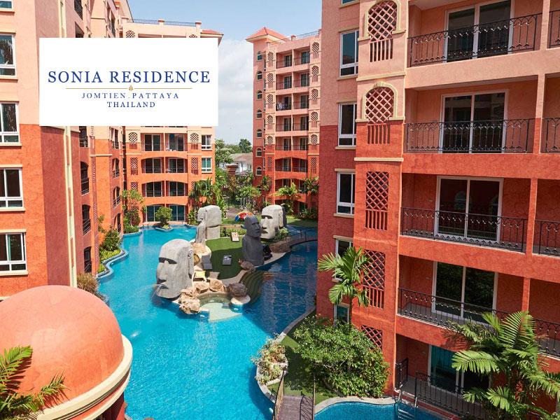 โรงแรม โซเนีย เรสสิเด้น- พัทยา (Sonia Residence)