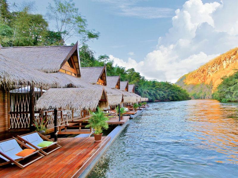 เดอะ โฟลทเฮ้าส์ ริเวอร์แคว – กาญจนบุรี (The FloatHouse River Kwai – Kanchanaburi)