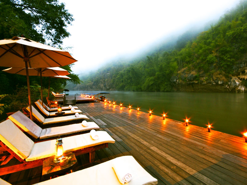 ริเวอร์แคว รีโซเทล – กาญจนบุรี (River Kwai Resotel – Kanchanaburi)