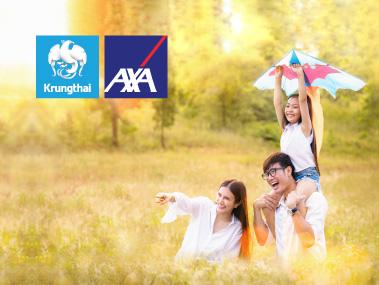กรุงไทย-แอกซ่า ประกันชีวิต | รับเครดิตเงินคืนสูงสุด 15% เมื่อชำระค่าเบี้ยประกันชีวิตผ่านบัตรเครดิต KTC