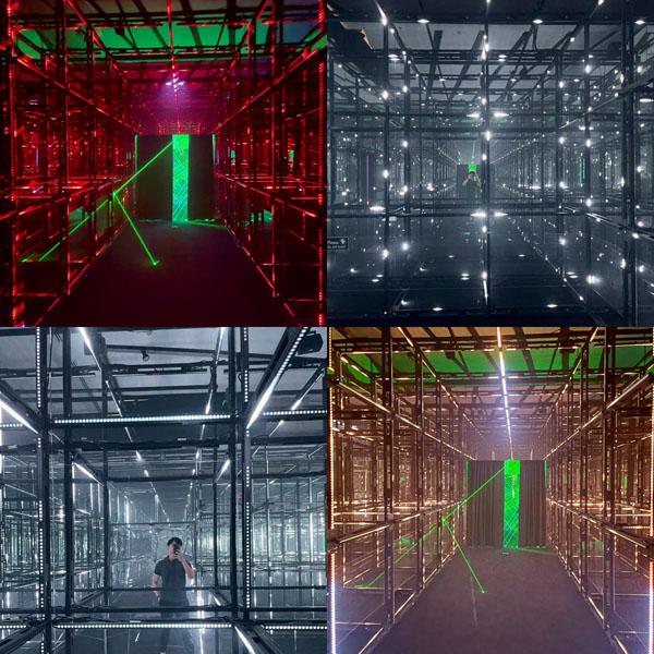 Digital Art ที่ House of Illumination ชั้น 8 Central world