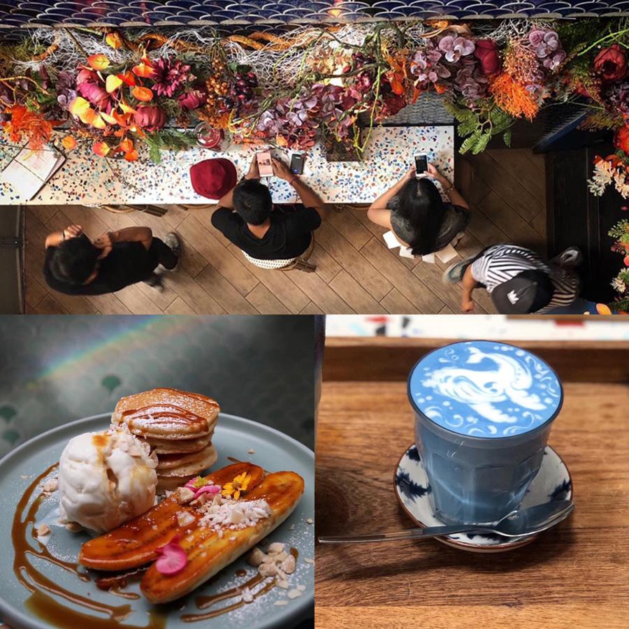 รวมร้านคาเฟ่กรุงเทพฯ BLUE WHALE CAFÉ (ท่ามหาราช)
