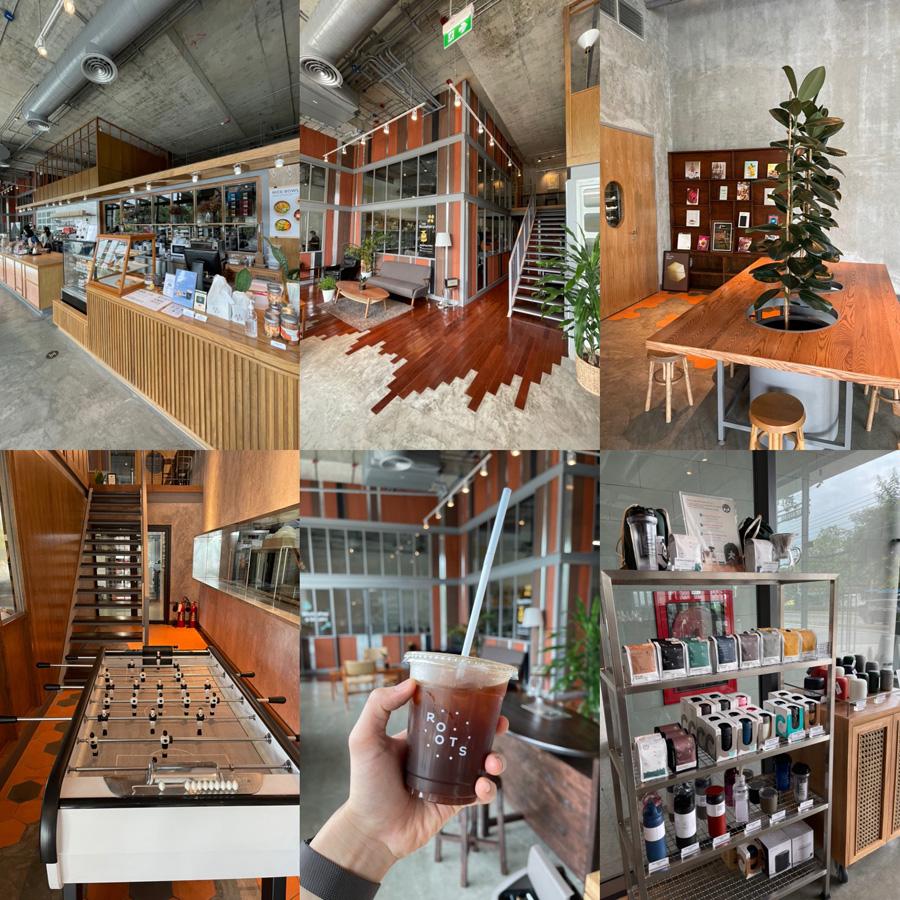 รวมร้านคาเฟ่กรุงเทพฯ Roots at Lasalle (ลาซาล)