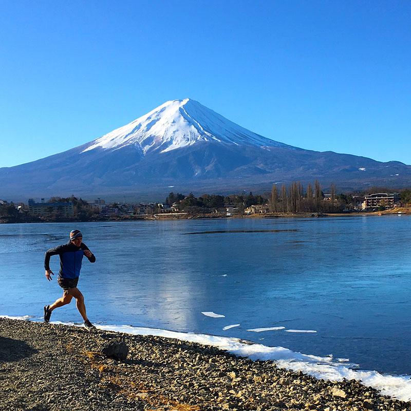 3 เส้นทางวิ่งจากง่ายไปถึงยาก ทักทายภูเขาไฟฟูจิ