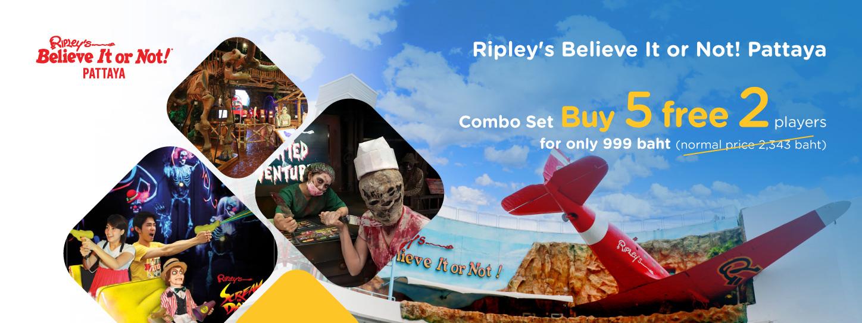 Ripleys Believe it or not