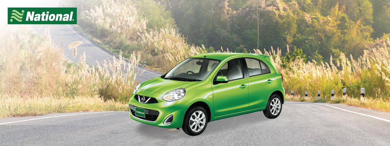 บัตรรถเช่าทั่วไทย National Car Rental ราคาสุดคุ้ม ที่ KTC World Travel Service