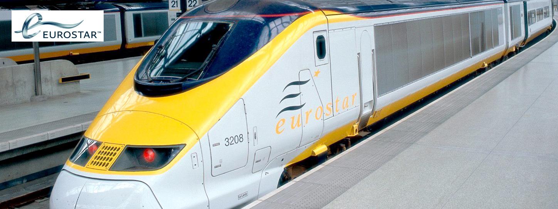 บริการจองตั๋วรถไฟยุโรป ยูโรสตาร์ (Eurostar) ที่ KTC World Travel Service