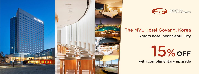 โปรโมชั่นโรงแรม เดอะ เอ็มวีแอล โฮเต็ล โกยาง,ประเทศเกาหลีใต้ (The MVL Hotel Goyang)