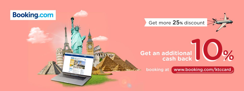 booking dot com 25 big