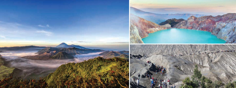 ลุย ภูเขาไฟโบรโม่-คาวาอีเจี๊ยน ที่อินโดนีเซีย อย่างเซียน