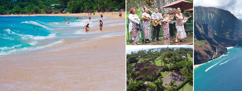 KAUAI Follow the footsteps ON THE SAND OF HEAVEN ISLAND เลียบเลาะเกาะสวรรค์แห่งฮาวาย