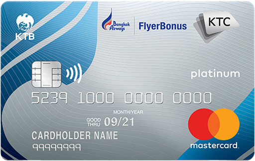 KTC - BANGKOK AIRWAYS PLATINUM MASTERCARD