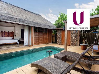 โปรโมชั่นโรงแรมในเครือ ยู โฮเต็ลแอนด์รีสอร์ท (U Hotels and Resorts)